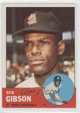 1963 Topps - [Base] #415 - Bob Gibson