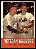 Veteran Masters (Casey Stengel, Gene Woodling) [FAIR]