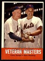Veteran Masters (Casey Stengel, Gene Woodling) [EX]