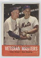 Veteran Masters (Casey Stengel, Gene Woodling) [Poor to Fair]
