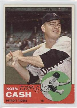 1963 Topps - [Base] #445 - Norm Cash