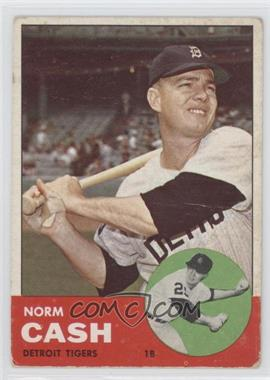 1963 Topps - [Base] #445 - Norm Cash [Good to VG‑EX]