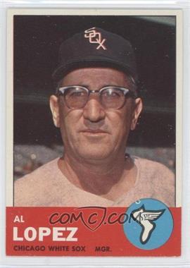 1963 Topps - [Base] #458 - Al Lopez