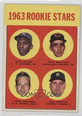 1963 Topps - [Base] #466 - Nate Oliver, Tony Martinez, Bill Freehan, Jerald Robinson [GoodtoVG‑EX]