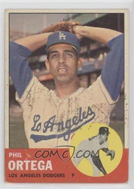 1963 Topps - [Base] #467 - Phil Ortega