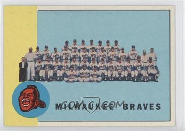 1963 Topps - [Base] #503 - Semi-High # - Milwaukee Braves Team