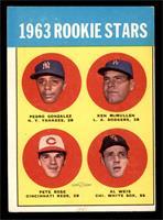 Rookie Stars (Pete Rose, Ken McMullen, Pedro Gonzalez, Al Weis) [VG]