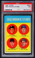 1963 Rookie Stars (Duke Carmel, Bill Haas, Dick Phillips, Rusty Staub) [PSA&nbs…
