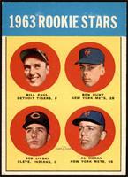 High # - Bill Faul, Ron Hunt, Al Moran, Bob Lipski [NM+]