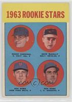 High # - Randy Cardinal, Dave McNally, Don Rowe, Ken Rowe