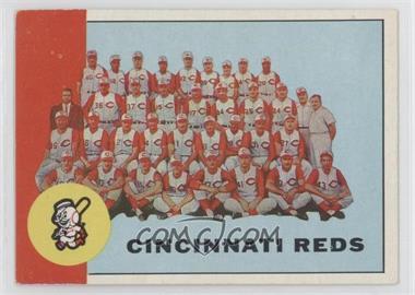 1963 Topps - [Base] #63 - Cincinnati Reds Team