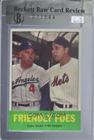 Friendly Foes (Duke Snider, Gil Hodges) [BRCR6.5]