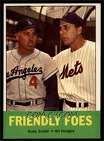 Friendly Foes (Duke Snider, Gil Hodges) [NM]