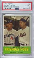Friendly Foes (Duke Snider, Gil Hodges) [PSA 6 EX‑MT]