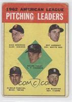 Ralph Terry, Dick Donovan, Ray Herbert, Camilo Pascual, Jim Bunning [Good…