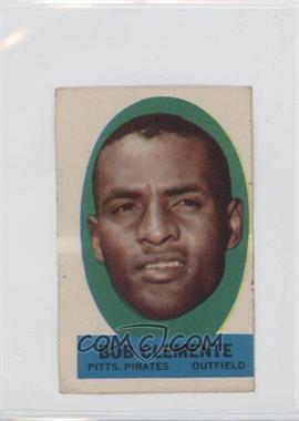 1963 Topps - Peel-Offs #BOCL - Roberto Clemente