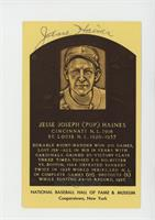 Jesse Haines [SGC Authentic Authentic]