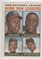 Hank Aaron, Willie Mays, Willie McCovey, Orlando Cepeda [GoodtoVG&#…