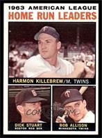 Harmon Killebrew, Bob Allison, Dick Stuart [EXMT]