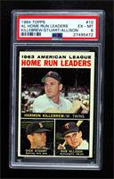 Harmon Killebrew, Bob Allison, Dick Stuart [PSA 6 EX‑MT]