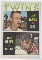 1964 Rookie Stars - Jay Ward, Tony Oliva [Noted]