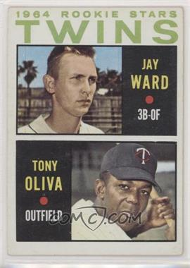 1964 Topps - [Base] #116 - 1964 Rookie Stars - Jay Ward, Tony Oliva