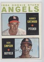 1964 Rookie Stars - Aubrey Gatewood, Dick Simpson
