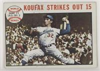 1963 World Series - Game #1: Koufax Strikes Out 15 (Sandy Koufax)