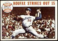 1963 World Series - Game #1: Koufax Strikes Out 15 (Sandy Koufax) [VGEX]