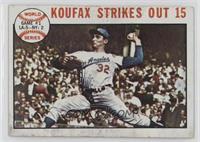 1963 World Series - Game #1: Koufax Strikes Out 15 (Sandy Koufax)