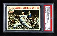 1963 World Series - Game #1: Koufax Strikes Out 15 (Sandy Koufax) [PSA6&n…