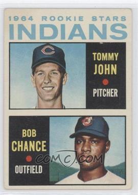 1964 Topps - [Base] #146 - 1964 Rookie Stars Indians (Tommy John, Bob Chance)