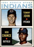 1964 Rookie Stars Indians (Tommy John, Bob Chance) [VG]