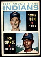 1964 Rookie Stars Indians (Tommy John, Bob Chance) [GOOD]