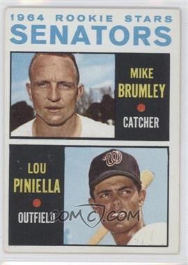 1964 Topps - [Base] #167 - 1964 Rookie Stars - Mike Brumley, Lou Piniella