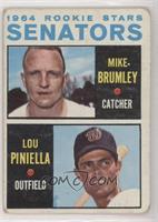 1964 Rookie Stars - Mike Brumley, Lou Piniella [Poor]