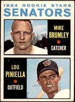1964 Rookie Stars - Mike Brumley, Lou Piniella [GOOD]