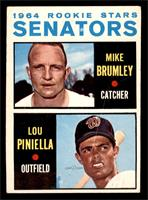 1964 Rookie Stars - Mike Brumley, Lou Piniella [VG]