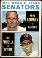 1964 Rookie Stars - Mike Brumley, Lou Piniella [FAIR]
