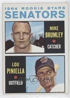 1964 Rookie Stars - Mike Brumley, Lou Piniella