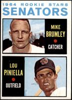 1964 Rookie Stars - Mike Brumley, Lou Piniella [EX]