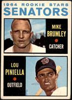 1964 Rookie Stars - Mike Brumley, Lou Piniella [GOOD]