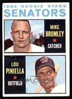1964 Rookie Stars - Mike Brumley, Lou Piniella [VG EX]