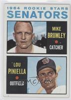 Mike Brumley, Lou Piniella