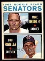 Mike Brumley, Lou Piniella [EX]