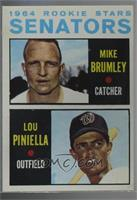 Mike Brumley, Lou Piniella [Altered]