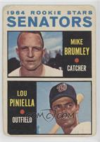 Mike Brumley, Lou Piniella [Poor to Fair]