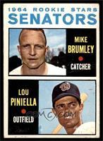 Mike Brumley, Lou Piniella [VG]