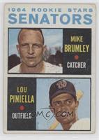 Mike Brumley, Lou Piniella [GoodtoVG‑EX]