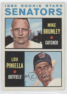 1964 Topps - [Base] #167 - Mike Brumley, Lou Piniella